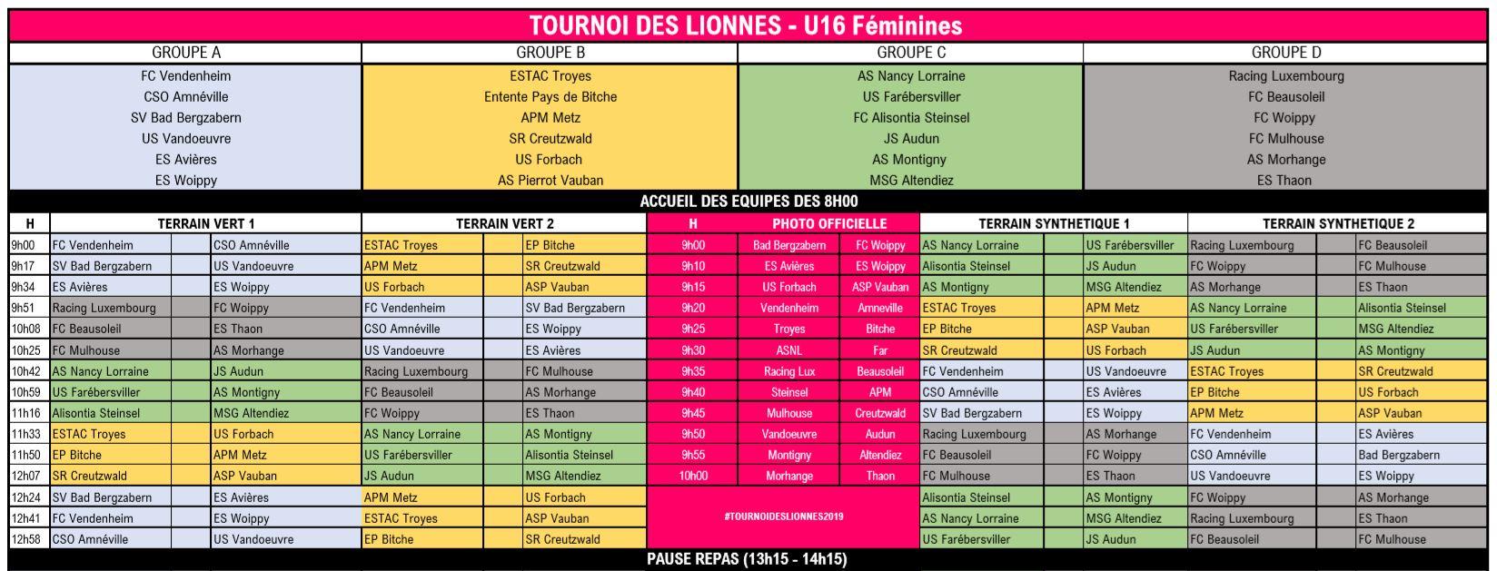 U16-Turnier